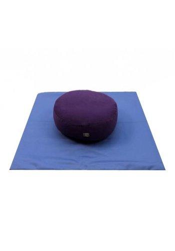 Yogi & Yogini naturals MeditatieSET paars op blauw