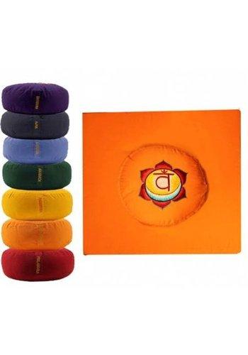 Yogi & Yogini naturals MeditatieSET oranje 2e chakra