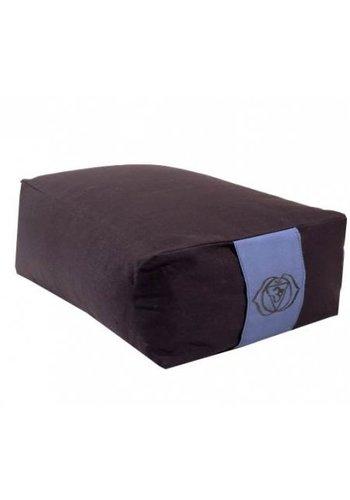 Yogi & Yogini naturals Meditatiekussen indigo 6e chakra (38x28x15 cm)