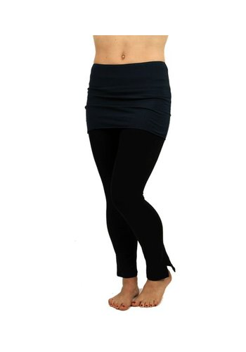 Yogi & Yogini naturals Yoga rok 'Satya' navy one size