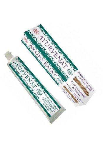 Yogi & Yogini naturals Ayurvedische tandpasta met miswak BIO (75 ml)