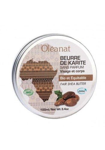 Oléanat Sheabutter-balsem ongeparfurmeerd fair trade