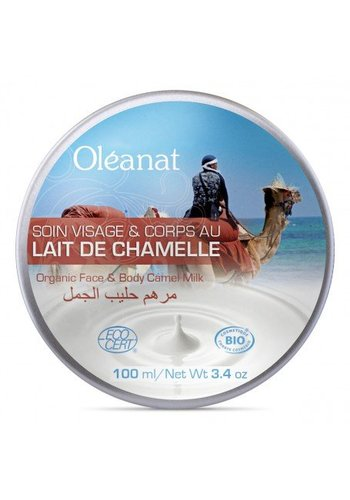 Oléanat Moisturizing butter met kamelenmelk BIO