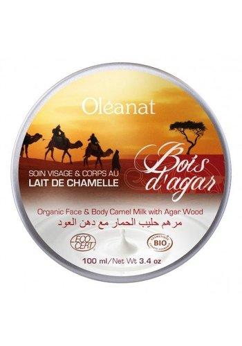Oléanat Moisturizing butter met kamelenmelk en agarhout BIO