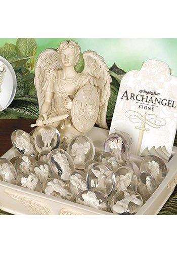 Angel Star Aartsengelen 48 Inspiratiestenen toonbankmandje (20 cm)