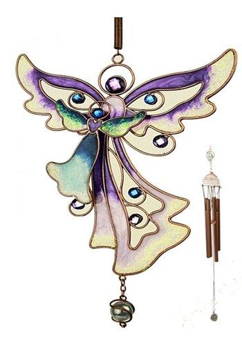 Angel Star Windorgel engel paars (18x70 cm)