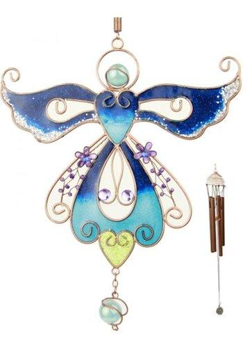 Angel Star Windorgel engel blauw (18x70 cm)