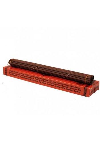 Yogi & Yogini naturals Wierook Tibetaans traditionele kruiden in rode doos