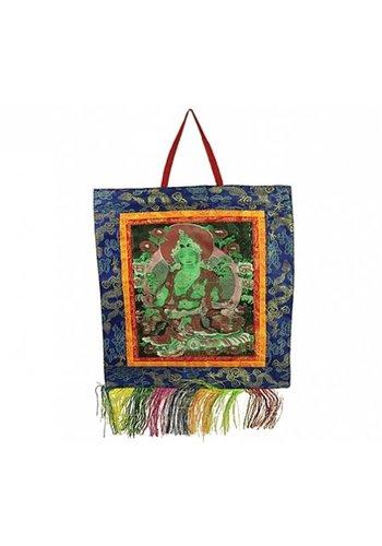 Yogi & Yogini naturals Thangka brokaat Tara