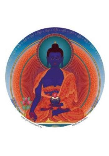 Yogi & Yogini naturals Raamsticker Medicijnboeddha