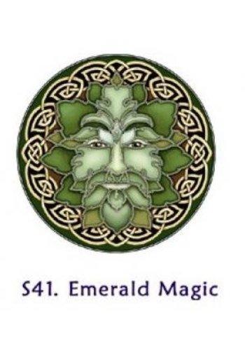 Yogi & Yogini naturals Raamsticker magie van smaragd