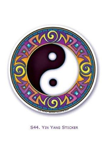 Yogi & Yogini naturals Raamsticker Yin Yang (10,5 cm)