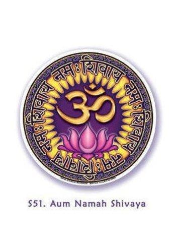 Yogi & Yogini naturals Raamsticker Om Namah Shivaya