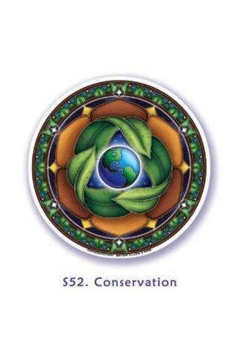 Yogi & Yogini naturals Raamsticker bescherming Moeder Aarde