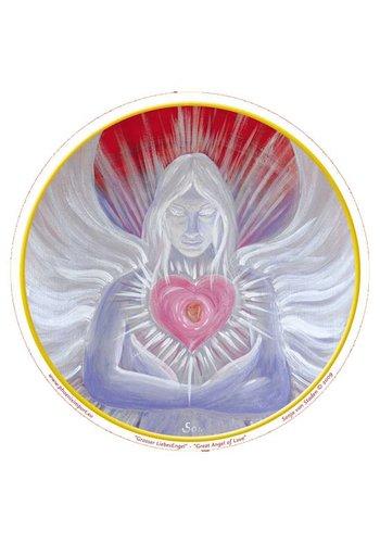 Yogi & Yogini naturals Raamsticker Great Angel of Love