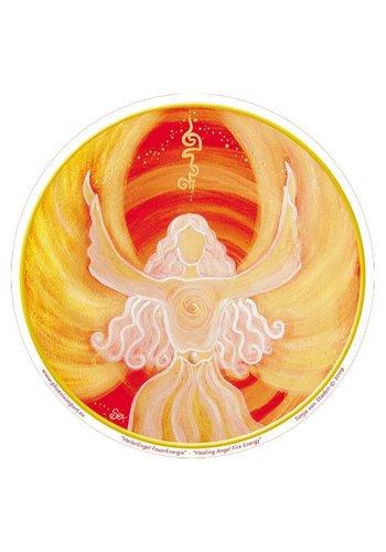 Yogi & Yogini naturals Raamsticker Healing Angel Fire Energy