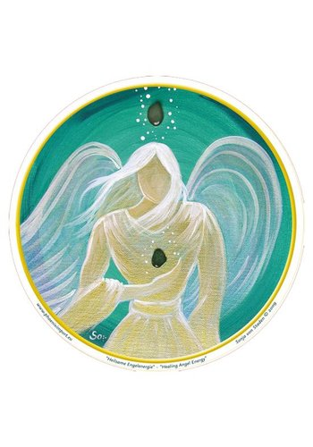Yogi & Yogini naturals Raamsticker Healing Angel Energy (10,5 cm)