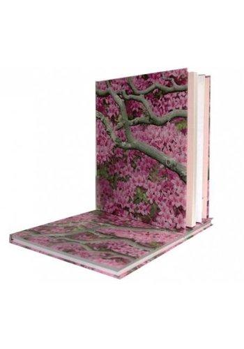 Yogi & Yogini naturals Notitieboek Zen flowers (23x18 cm)