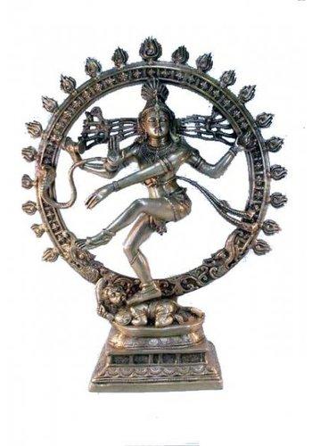 Yogi & Yogini naturals Shiva Nataraj messing 1 kleur groot (83 cm)
