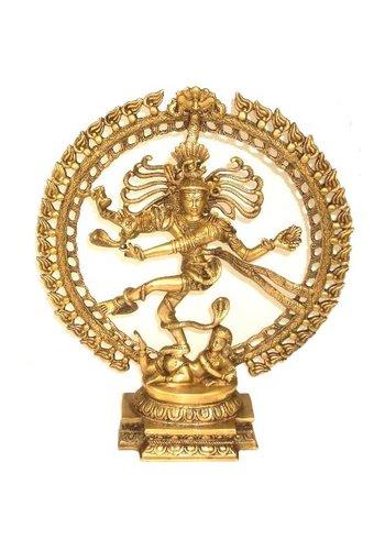 Yogi & Yogini naturals Shiva Nataraj messing (48 cm)