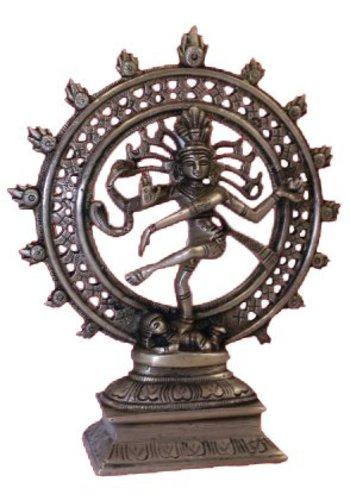 Yogi & Yogini naturals Shiva Nataraj messing 1 kleur (20cm)