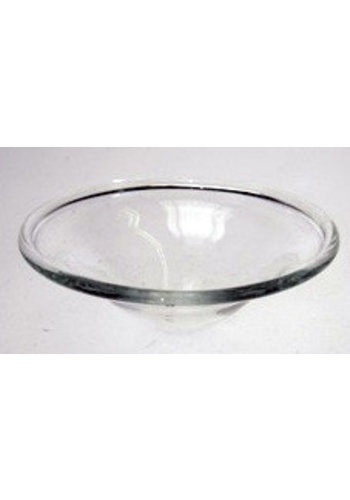 Yogi & Yogini naturals Schaaltje glas voor olieverdampers klein (8.5 cm)