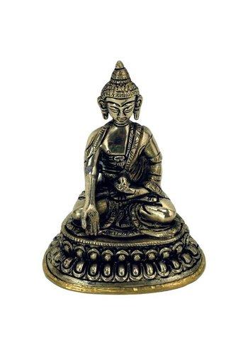Yogi & Yogini naturals Minibeeldje Boeddha Ratnasambhava (10 cm)