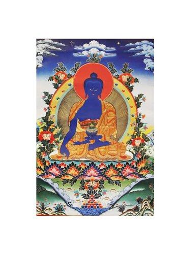 Yogi & Yogini naturals Thangka reproductie - Medicijn Boeddha