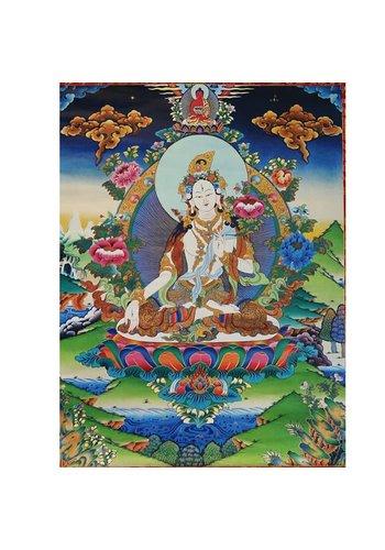Yogi & Yogini naturals Thangka reproductie - Witte Tara