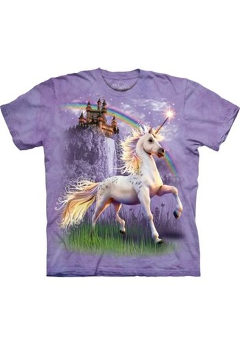 The Mountain Artwear T-Shirt Mountain Artwear Unicorn Castle (M/L/XL)