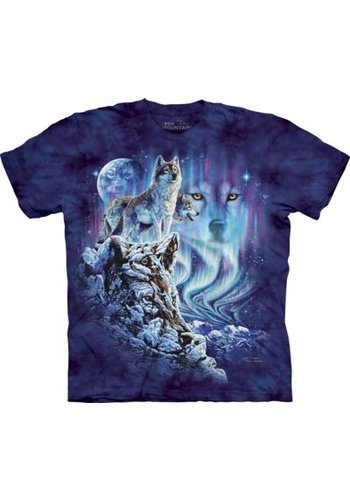 The Mountain Artwear T-Shirt Mountain Artwear Find 10 Wolves