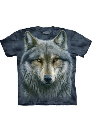 The Mountain Artwear T-Shirt Mountain Artwear Warrior Wolf