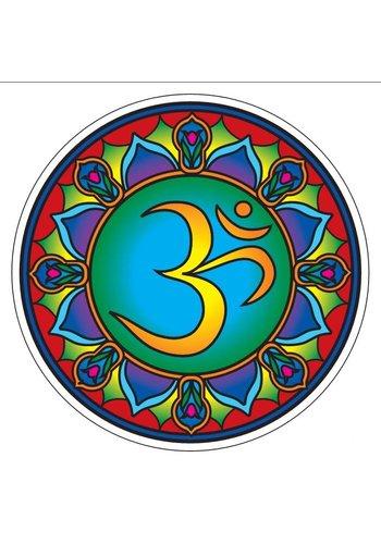 "Yogi & Yogini naturals Raamsticker ""Cosmic Ohm"" (14 cm)"