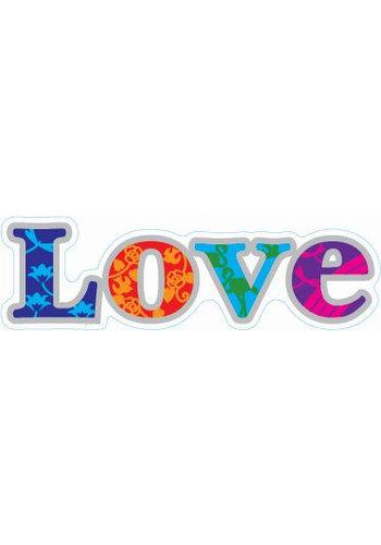 "Yogi & Yogini naturals Raamsticker ""Love"" (12 cm)"