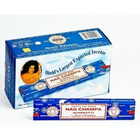 Wierook Satya Nag Champa Agarbatti klassiek staafjes (15 grams)