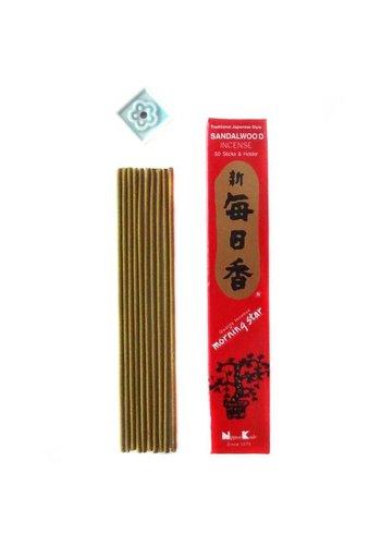 Nippon Kodo Wierook Morning Star sandelhout (20 gram)