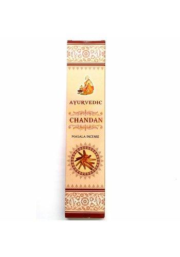 Yogi & Yogini naturals Wierook Ayurvedische masala Chandan premium!