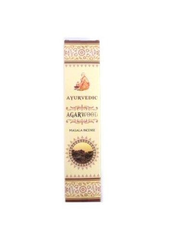 Yogi & Yogini naturals Wierook Ayurvedische masala Agarwood premium!