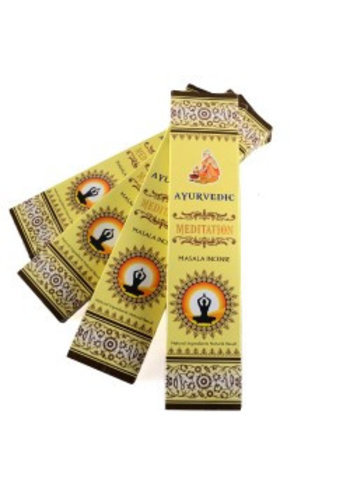 Yogi & Yogini naturals Wierook Ayurvedische masala Meditatie