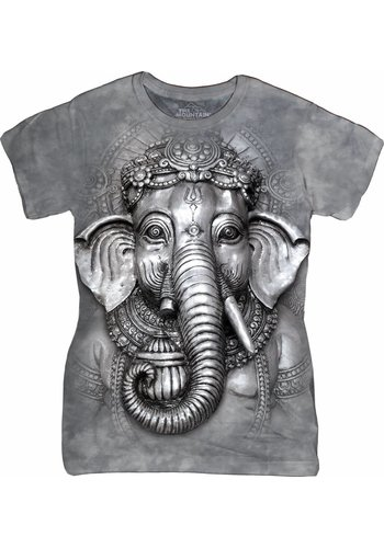 The Mountain Artwear Ladies T-Shirt Mountain Artwear Big Face Ganesh