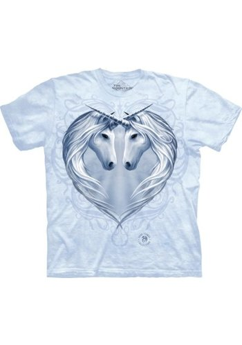 The Mountain Artwear T-Shirt Mountain Artwear Unicorn Heart