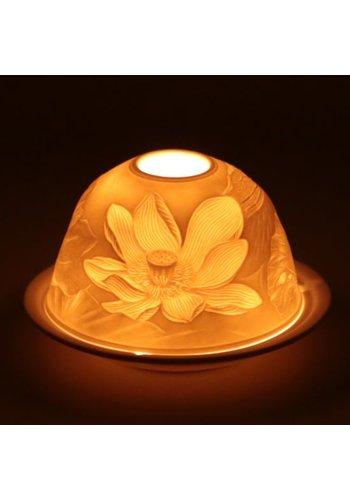 Yogi & Yogini naturals Sfeerlicht Porselein Lotusbloem