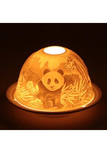 Yogi & Yogini naturals Sfeerlicht Porselein Panda