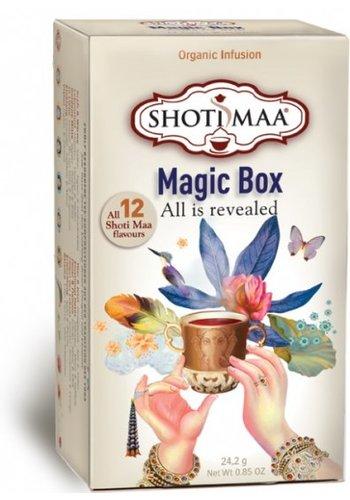 Shoti Maa Thee Shoti Maa Magic Box 12 theesoorten BIO