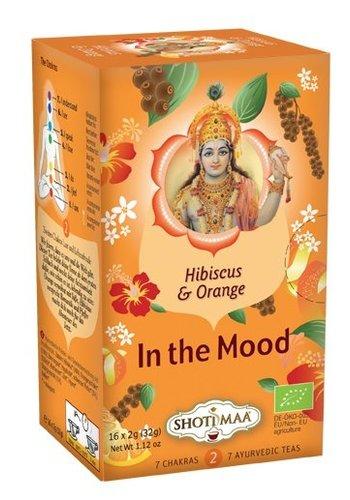 Shoti Maa Thee Shoti Maa hibiscus, sinaasappel & peper thee BIO
