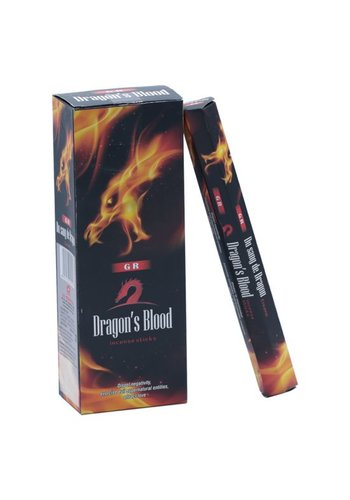 Yogi & Yogini naturals Wierook Dragon Blood (drakenbloed) hexagram (20 gram)