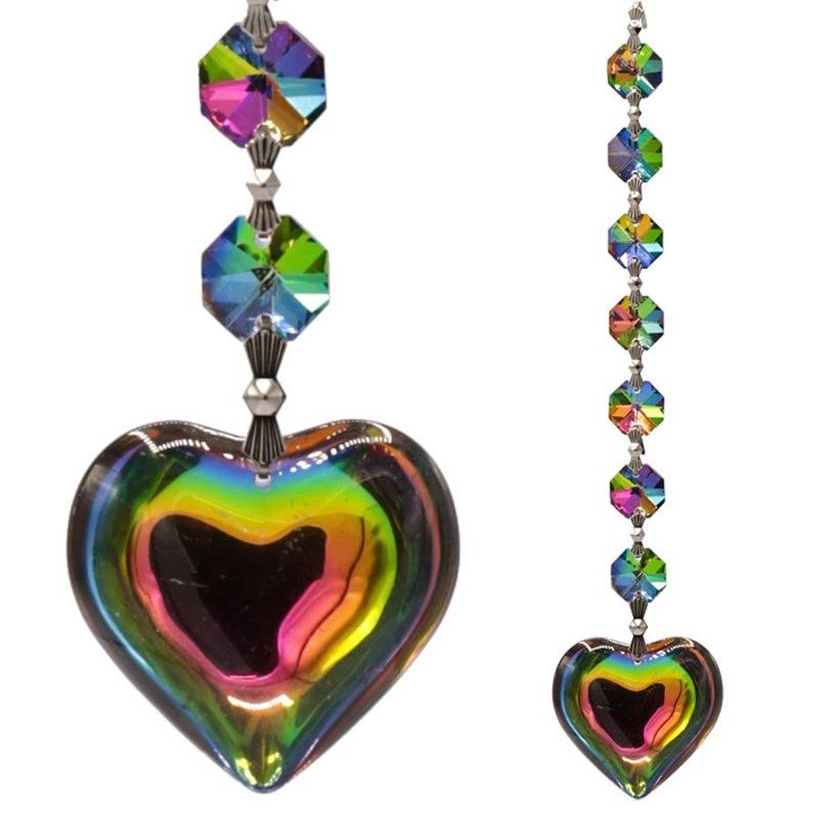 Aurora Hart Feng-Shui chakrakristallen (20 cm)