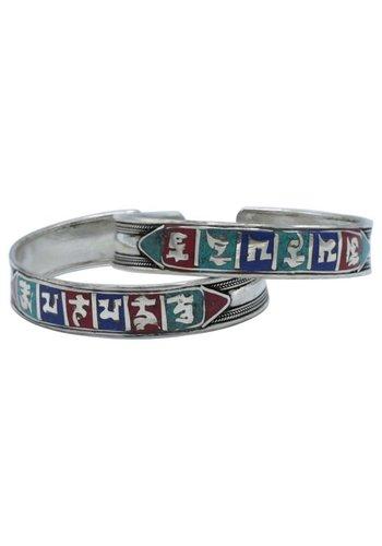 Yogi & Yogini naturals Armband zilverkleurig OMPMH