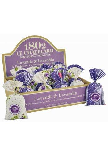 Le Chatelard 1802 Lavendel & Lavandin 25 zakjes in een kartonnen display
