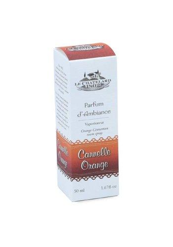 Le Chatelard 1802 Kamerspray Kaneel Sinaasappel  (50 ml)